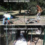 Collegamento pedonale via Mari/Brandolini – parco di via dell'Ateneo Salesiano