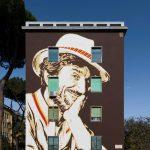 I Murales dedicati a Gigi Proietti nel nostro Municipio